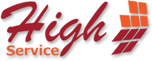 Logo High Service empresa de manutenção predial e industrial